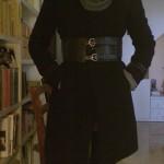 La cintura sul cappotto